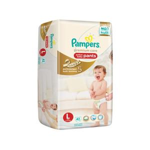 Pampers Popok Celana Premium Care L-42