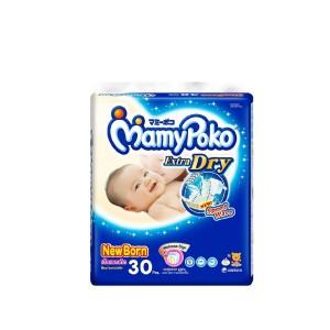 MamyPoko Popok Perekat Extra Dry NB Isi 30