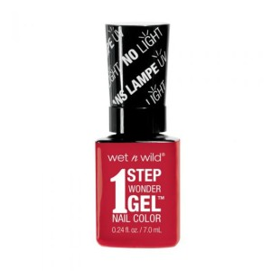 Wet n Wild 1 Step Wonder Gel Nail Color - Crime Of Passion - 7 mL