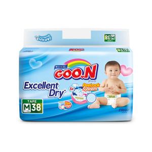 GOO.N Popok Perekat Excellent Dry M Isi 38