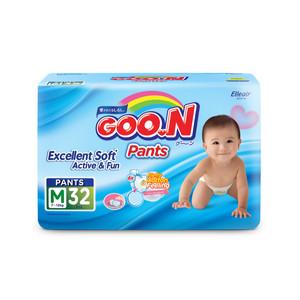 GOO.N Popok Celana Excellent Soft M Isi 32