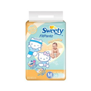 Sweety Popok Celana Fit M Isi 38