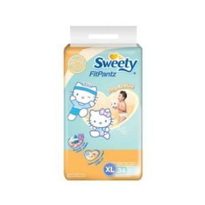 Sweety Popok Celana Fit XL Isi 34
