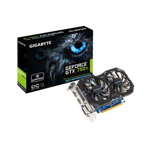 Gigabyte GeForce GTX 750 Ti 2GB GV-N75TOC2-2GI