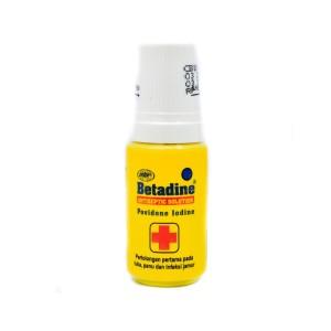Betadine Antiseptic Solution - 5 mL