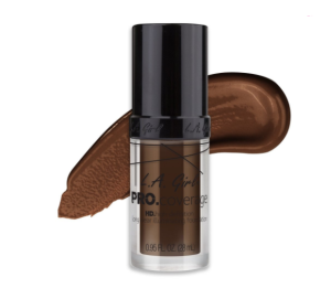 LA Girl Pro Coverage HD Liquid Foundation - Dark Chocolate - 28 mL