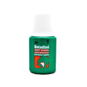Betadine Obat Kumur Antiseptik Povidone Iodine - 100 mL