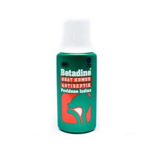 Betadine Obat Kumur Antiseptik Povidone Iodine - 190 mL