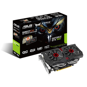 Asus GeForce GTX 960 Strix DirectCU II OC GDDR5 2GB