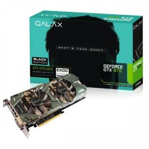 Galax GeForce GTX 970 Black EXOC 4096MB GDDR5
