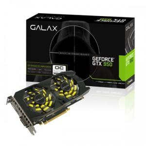 Galax GeForce GTX 950 Black OC Sniper 2GB DDR5