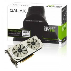 Galax GeForce GTX 950 EXOC White 2GB DDR5
