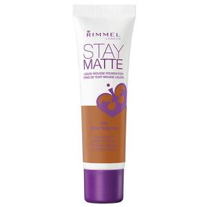 Rimmel Stay Matte Liquid Mousse Foundation - Depp Mocha - 30 mL