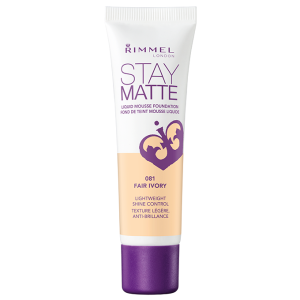 Rimmel Stay Matte Liquid Mousse Foundation - Fair Ivory - 30 mL