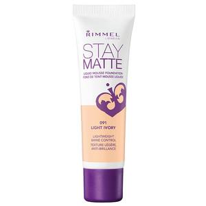 Rimmel Stay Matte Liquid Mousse Foundation - Light Ivory - 30 mL