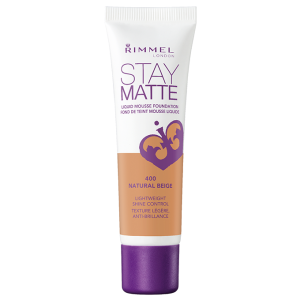 Rimmel Stay Matte Liquid Mousse Foundation - Natural Beige - 30 mL