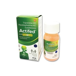 Actifed Plus Expectorant Syrup - 60 mL