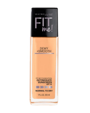 Maybelline Fit Me Dewy + Smooth - 310 Sun Beige - 30 mL