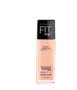 Maybelline Fit Me Dewy + Smooth - 125 Nude Beige - 30 mL