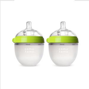 Comotomo Botol Bayi Green 150 ml Twin Pack