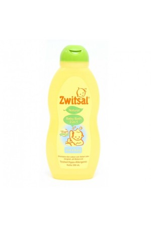 Zwitsal Natural Baby Bath 2in1 200 ml