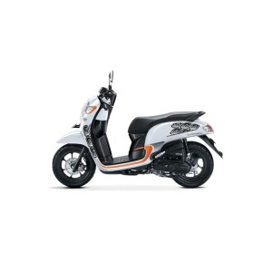 All New Honda Scoopy Sporty