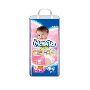 MamyPoko Popok Celana Extra Soft M Isi 34