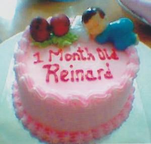 Kue Bayi 1 Bulan