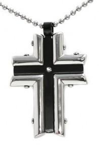 Black Modern Cross