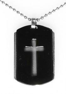 Black Steel Cross