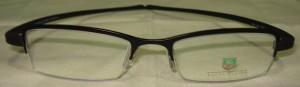 Tag Heuer Glasses Reflex Black Half Frame