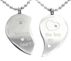 KALUNG Couple Love Heart
