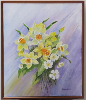 DAFFODILS And PRIMEROSES