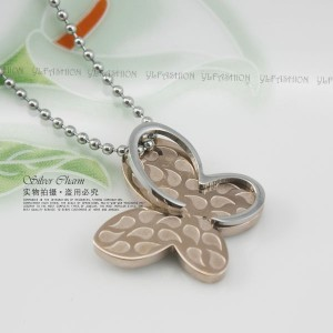 Kalung Gold Butterfly Leaf