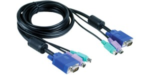 D-Link DKVM-CB5 : KVM Cable 4,5 Meter