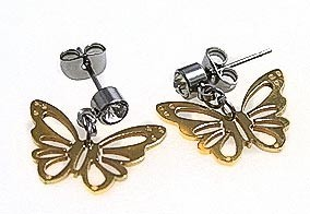 ANTING - Anting  Gold ButterFly