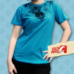 Kaos Cewek SeaMe Bali Kualitas Export. (GTSO 0001)