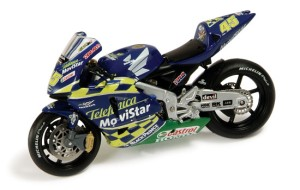 "Honda RC211-V #45 ""Team Telefonica Movistar"" C.Edwards Moto GP 2004"