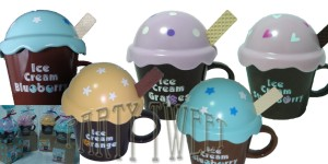 Birthday Giftaway - Ice Cream Cup With Spoon