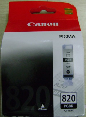 Original Canon Ink Cartridge PG 820 Black