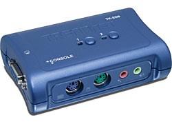 TRENDnet 2-PORT PS/2 KVM Swicth With Audio