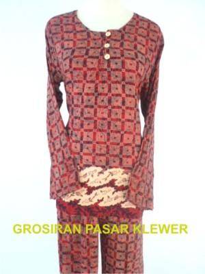 Setelan Batik Panjang Panjang 02