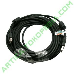 Kabel Extention USB2.0 10m Black
