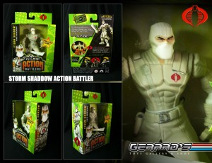 Storm Shaddow - GIJOE Action Battler - Hasbro - MIB
