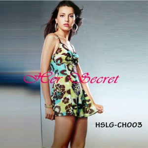 (HSLG-CH003) Comfy Mini Dress For Beach Wear Atau Swimsuit