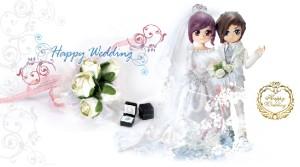 MIMO WESTERN WEDDING DOLLS