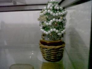 Pohon Natal Manik-Manik Kecil