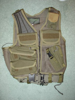 EOD Tactical Vest  Blackhawk Warna Olive Drab
