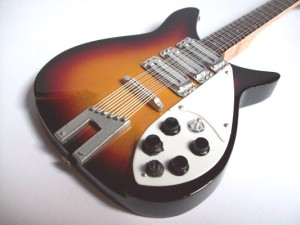 "Rickenbacker 325 Sunbrust John Lenon ""The Beatles"""