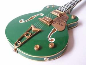 "Miniatur Gitar Gretsch ""GOAL IS SOUL"" Bono U2"